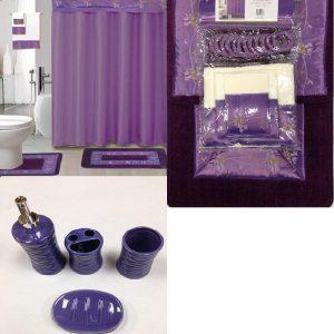 22 piece purple