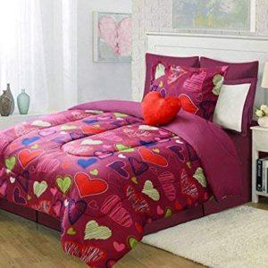 Purple Kids Twin Bedding Set