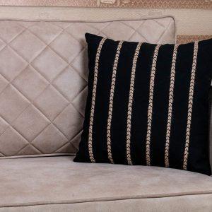 Black 18×18 Throw Pillow