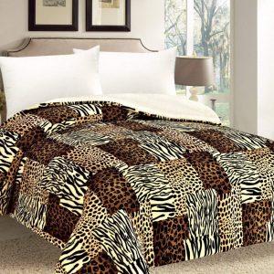 Leopard Print Comforter/Blanket