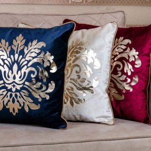 Metallic 18×18 Throw Pillows