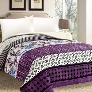 Purple Sherpa Comforter/Blanket