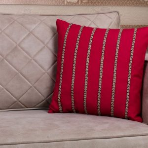 Red 18×18 Throw Pillow