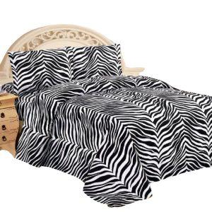 black white zebra
