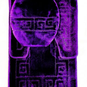 purple greek key