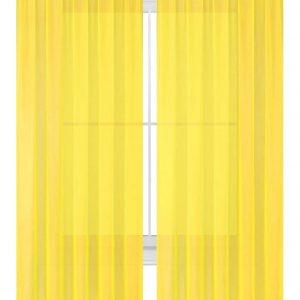yellow sheer