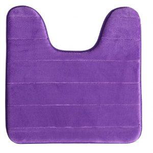 Worldsproductmart-Toilet Bathroom Mat-Purple