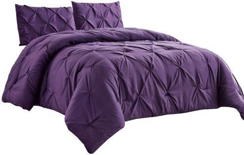 dark purple bedding