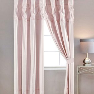 rosepink pin curtain not cover